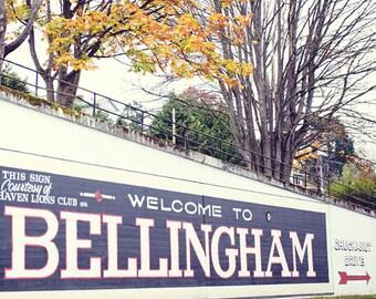 Bellingham - Chuckanut - Washington - Landscape Photograph - Travel Photo - Bellingham - Fine Art Photography Print - Neutral Home Decor