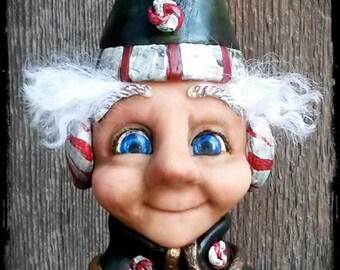 "Christmas Peppermint Elf - ""Crispin"""