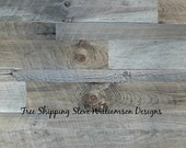 Gray Wood Wall Paneling - 8.50 per sq ft with FREE SHIPPING -Enter promo code SNOWFLAKE  for 10% discount!