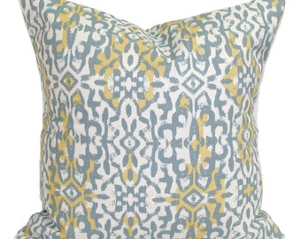 Pillow Sale.14x14 inch.Decorative Pillow Cover. Slate Gray.Grey Throw Pillow. Accent Pillow. Grey Cushion Cover. Gray Yellow Pillow. Small