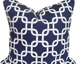 Blue Pillows, Decorative. Blue Pillow Cover.Navy Blue Pillow, Popular Pillow, Decorative Pillow, Home Decor, Blue Cushion, Blue Euro Sham