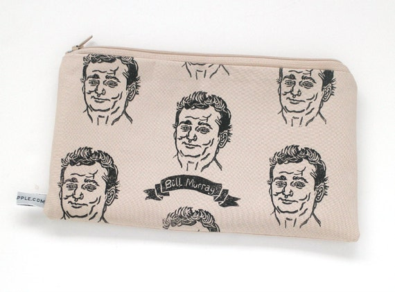 Bill Murray Purse - Portrait Zipper Pouch