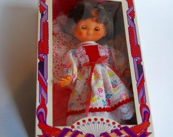 Vintage Katherine Doll by Ocean Toys, New in Original Box