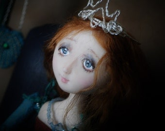 Midori ~ A tiny OOAK Art Doll Princess