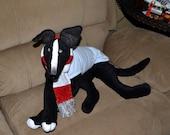 Dog/greyhound/lurcher/galgo/whippet/italian greyhound/puppy soft sculpture