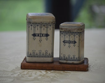 The and Poivre Cannister Set *Free Shipping*