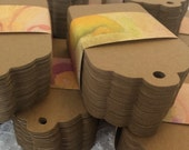 Paper Tags, Kraft Paper Tags, Price Tags, Bulk Merchandise Tags, Blank Kraft Paper Labels, Large 3.5 Inch - Set of 1000