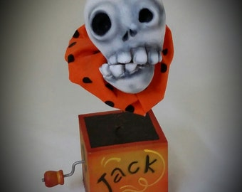 Jack In The Box Head Etsy