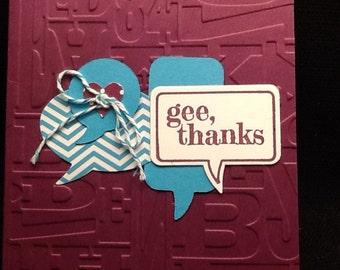 Gee Thanks THK-3