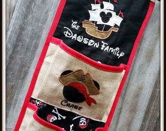 Fish Extender Pirate Ship for Disney Cruise Completely Customizable!