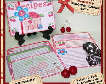 Recipe Card Holder - digital download