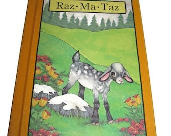 Serendipity goat book Raz Ma Taz by Stephen Cosgrove 80s 1980s children's books illustrated hard cover