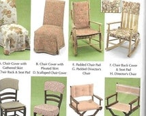 ON SALE Simplicity 5952 Donna Lang Easy Chair Covers Sewing Pattern, UNCUT