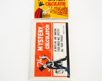 Mystery calculator made in Japan vintage magic trick