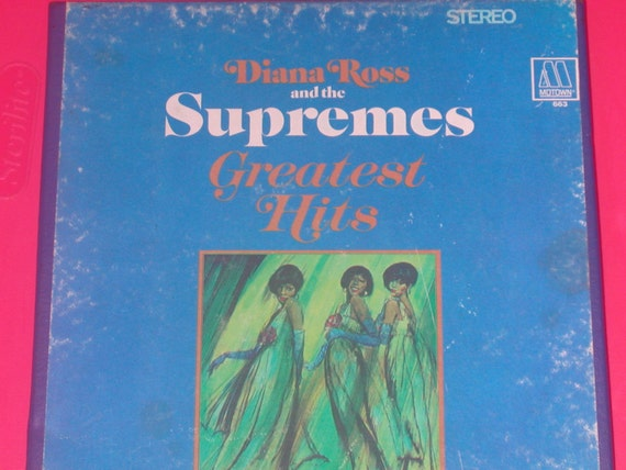 Diana Ross And The Supremes Greatest Hits 1967 Motown 663 ...  |Motowns Greatest Hits Diana Ross
