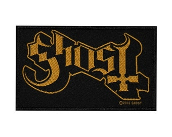 "Band Logo ""Ghost"" BC Patch Heavy Metal Music Fan Apparel Jacket Sew-On Applique"