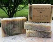 Applewood & Fir Needle, Natural Handmade Soap, Fall Soap, Cold Process, Vegan