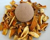Spiced Orange Bath Bomb, Epsom Salts Bath Bomb, Cinnamon Bath Fizz, Bath and Body, Spa Bath, All Natural Bath, Eco friendly bath, Vegan