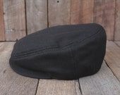 Newsboy Hat, Mens Vintage Style Cap, Wool Fashion Hat, Mens Driver, Gift for Him, Dad's Hat