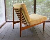 Mid century Folke Ohlsson Swedish lounge chair by DUX