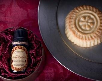 GOURMANDISE Marzipan Perfume - Cake Perfume -  Christmas Perfume - Almond Perfume - Natural Perfume Oil