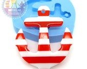 Big Anchor Charm 35mm Bakery Silicone Flexible Mold 101L* BEST QUALITY