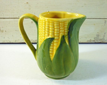 Shawnee Corn King Cream Pitcher Made in USA Number 70