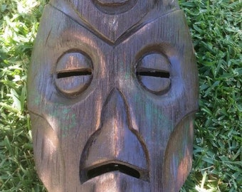 Dragon Priest mask (wood)