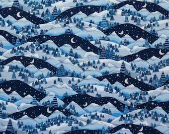 ℳ Blue Mountain 100% Cotton 45 Inches Wide FC12473