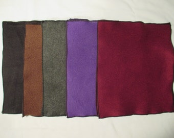 Washable Swift Duster - Dry - 3 Fleece - Black, Brown, Grey, Purple, Maroon, Rainbow Colors - Reusable Swiffer Pad - Dees Transformations