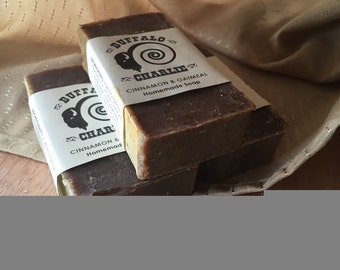 Cinnamon & Oatmeal - Bison Tallow Soap