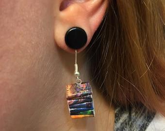 Harry Potter Micro Mini Book Stack Earrings