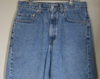 vintage levi's 550 jean shorts size 33