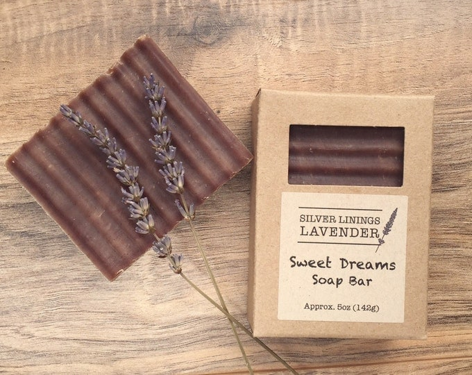 Sweet Dreams Bar Soap (lavender & vanilla)