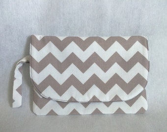 Diaper Clutch, Diaper Case, Diaper Pouch