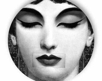 zen, Lina Cavalieri melamine plate