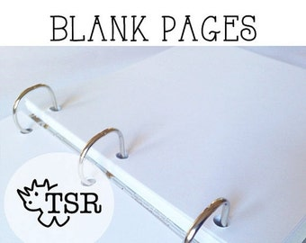 ON SALE Blank Pages