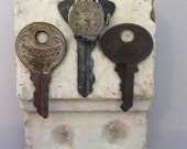 Hook Keys Architectural Corbel Watch Salvage Cottage