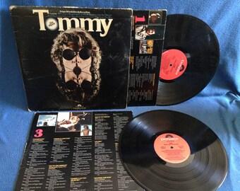 "RARE, Vintage, The Who - ""Tommy the Movie Soundtrack"" Vinyl 2 LP Set, Record Album, Original First Press, Eric Clapton, Elton John"