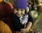 Crocheted Boo! Hat - Choose your size