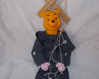 Winnie the Pooh Marionette Puppet /Not Included In Coupon Discount Sale/