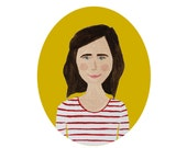 for KELLI illustrated / digitized portrait
