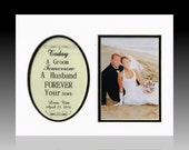 Today A Groom Tomorrow A Husband Forever Your Son Picture, Mother Of The Groom Frame, Wedding Picture Frame,  Father of the Groom