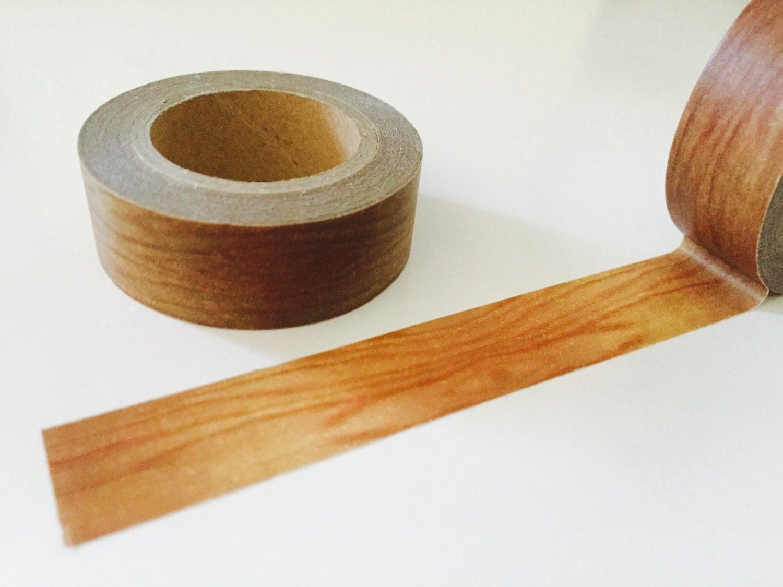 wood grain washi tape. Black Bedroom Furniture Sets. Home Design Ideas