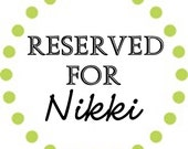 This listing is Reserved for Nikki only. 15 Sheets Customized Labels - 2 1/2 inch size - Round
