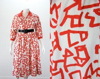 XXL Dress - XXL 1980s Dress