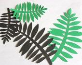 Die Cut Palm leaves, tropical, jungle