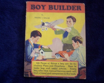 1930s  Boy Builder Book