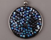 4 size!  Quality rhodium-plated  PENDANT BAIL  EU made for Crystal Rocks finding