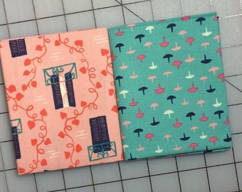 Cotton + Steel - Homebody - Kimberly Kight - Set of 2 Fat Quarter cuts  #10